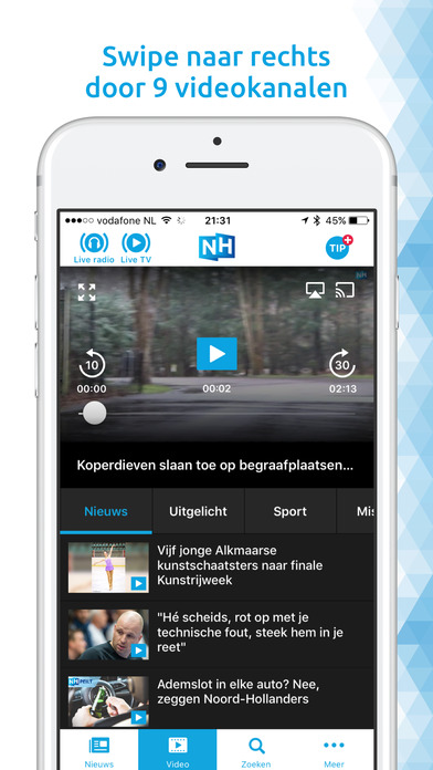 RTV Noord-Holland iPhone Screenshot 2