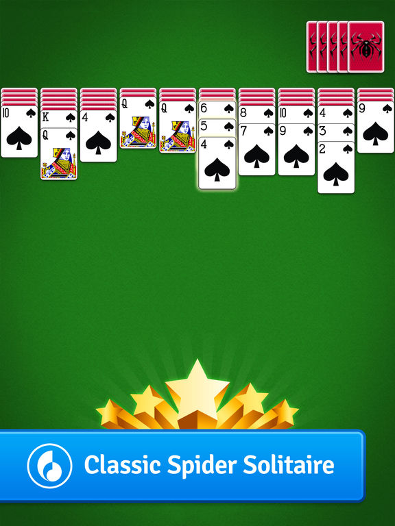 free spider solitaire app
