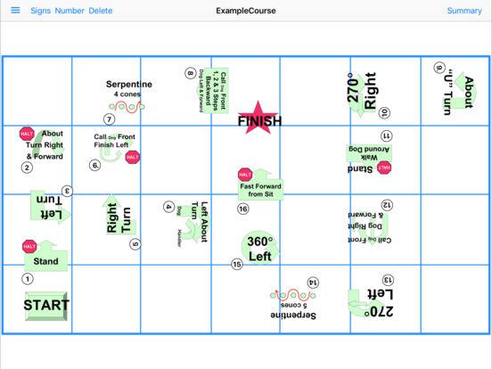 UKC Rally App Screenshot