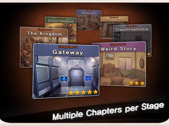 Screenshots of Doors&Rooms for iPad