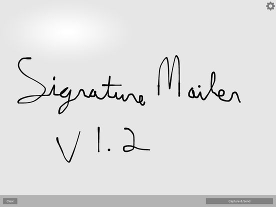Signature Mailer: Capture Send Signature by Email Screenshots