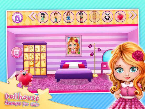 App Shopper Dollhouse Games for Girls Design Your Own