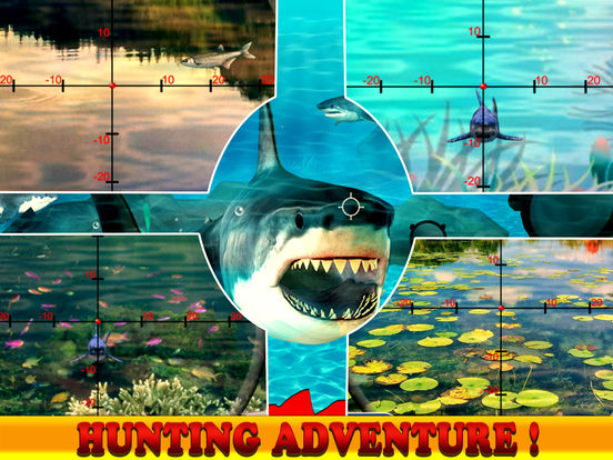 Flying Hungry Shark Attack Limbo Adventure-ipad-3