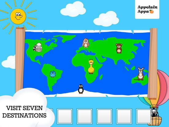 Скачать Monkey Moe World Traveler - Geography kids apps