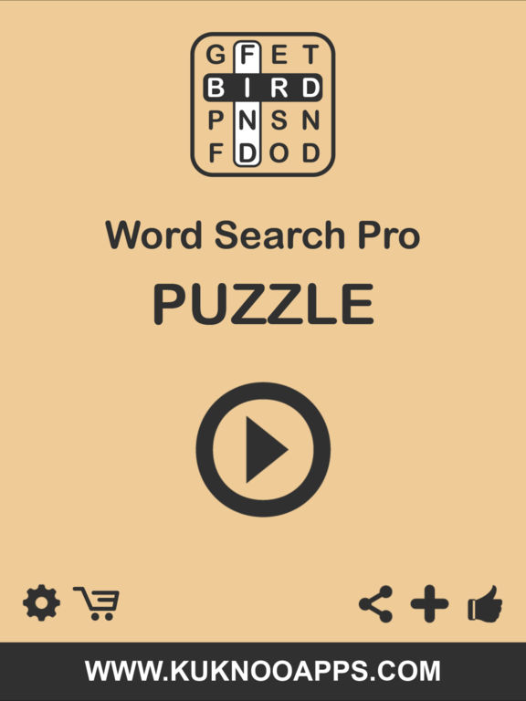 Word Search Pro words finder Puzzlescreeshot 2