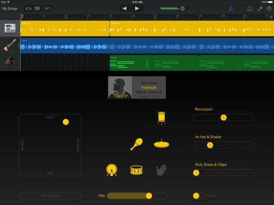 Screenshot #4 for GarageBand