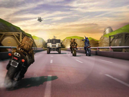 US ARMY MOTO RACER PRO screenshot 10