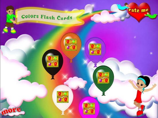 Match The Colors Memory Flash Cards screenshot 6