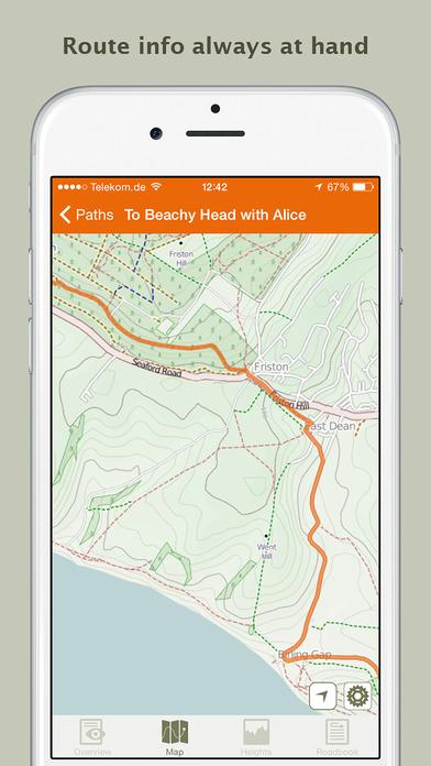 Naviki – das Fahrrad-Navi iPhone Screenshot 5
