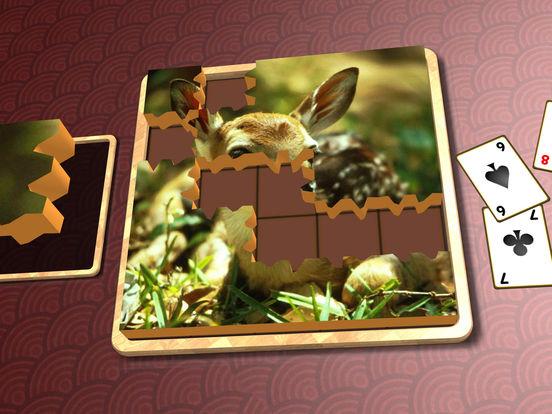 Jigsaw Solitaire Baby Animals screenshot 8