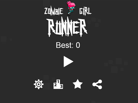 Zombie Girl Runner Pro Screenshots