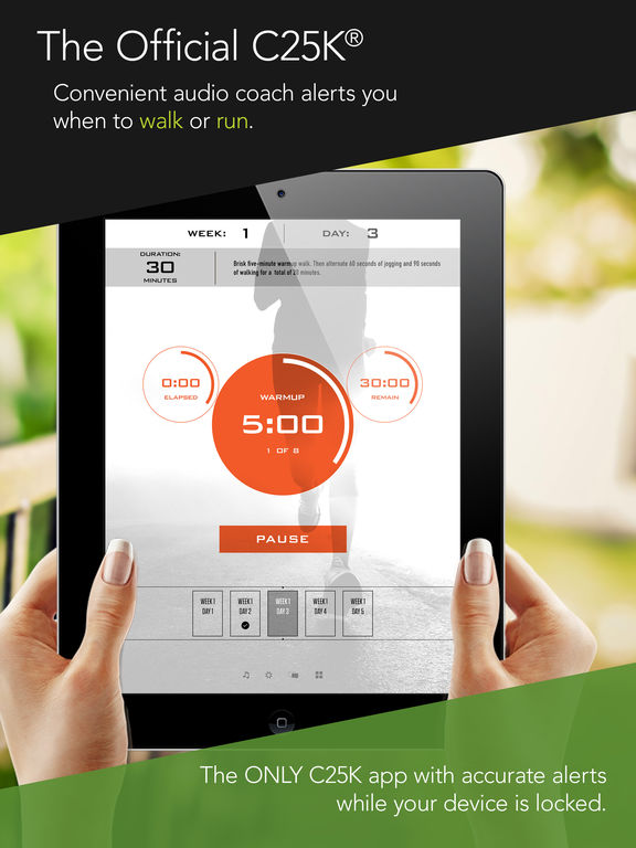 C25K® 5K Trainer Pro (Couch Potato to Running 5K) Screenshots
