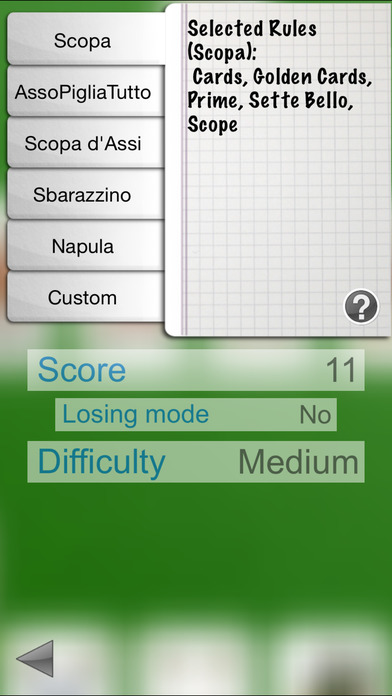 iScopa iPhone Screenshot 3