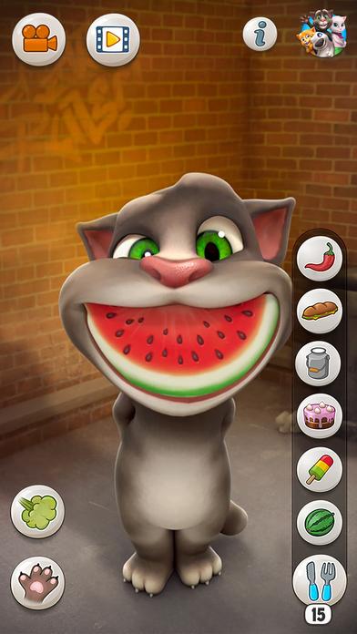 【有趣互动】会说话的汤姆猫