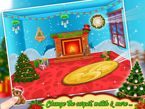 App Shopper: Christmas Room Decoration - Free kids game (Games)