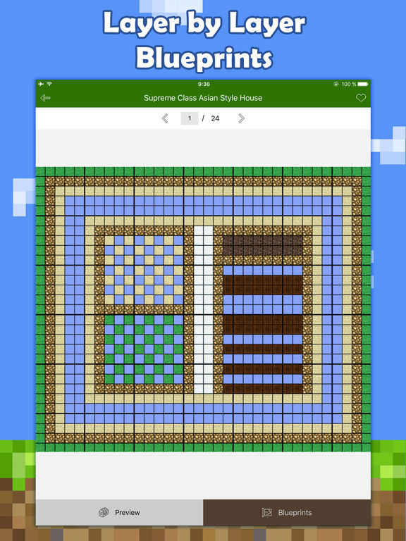 app shopper house building blueprint guide for minecraft