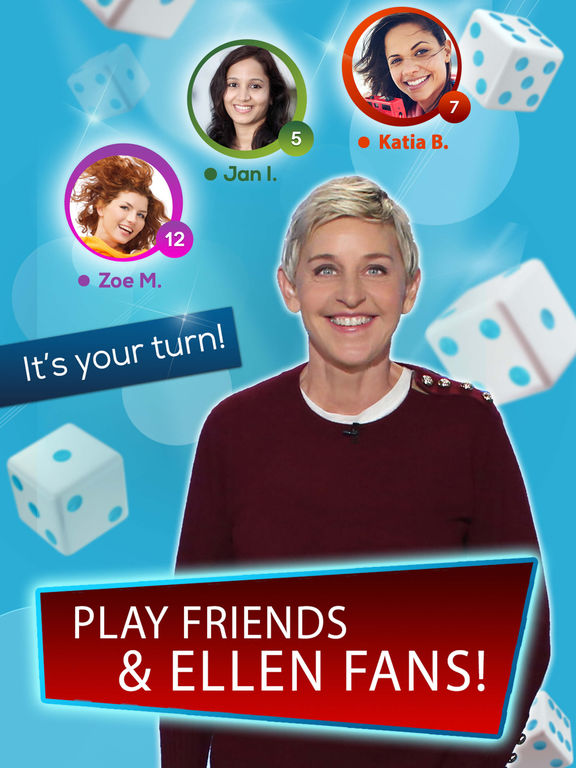 Image of Dice with Ellen - Fun New Dice Game! for iPad