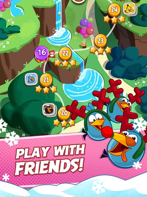 دانلود بازی جذاب Angry Birds Blast برای آیفون، آیپاد و آیپد - تصویر 3