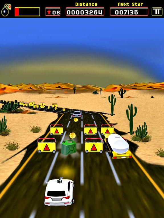 Sane Lane - Car Race, Time bomb Screenshots