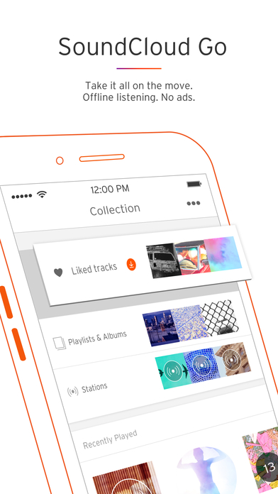 Screenshot for SoundCloud - Music & Audio in United States App Store