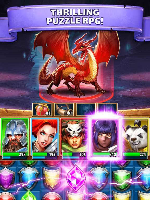 Empires & Puzzles: RPG Questscreeshot 1