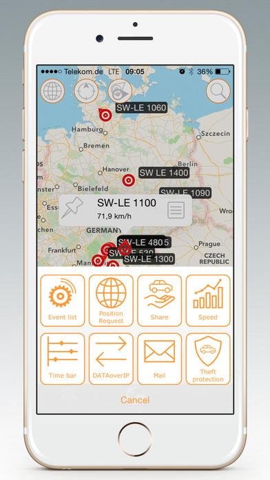 GPS-Explorer iPhone Screenshot 3