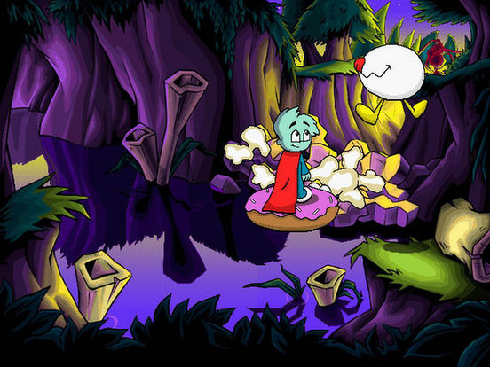 Игра Pajama Sam 3: You Are What You Eat From Your Head