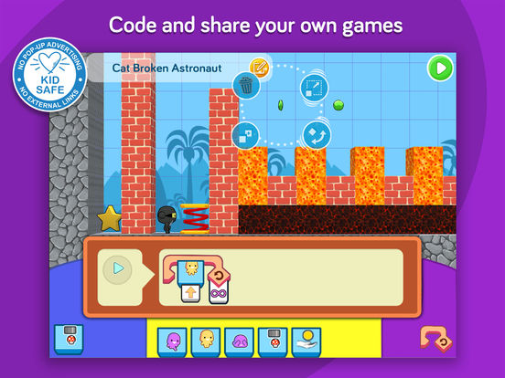 codeSpark Academy with The Foos - coding for kids Screenshot