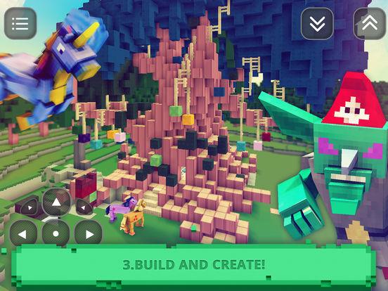 App shopper little pony survival building crafting games for Crafting and building app store