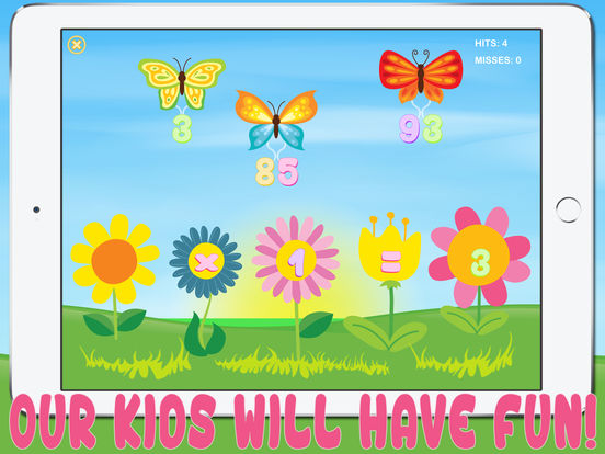 Matherfly HD - Learn Math with Butterflies! iPad Screenshot 5