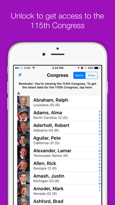 Congress+ iPhone Screenshot 1