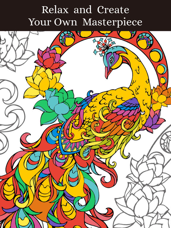 Animal Coloring Pages: Coloring Book for Adults on the App Store