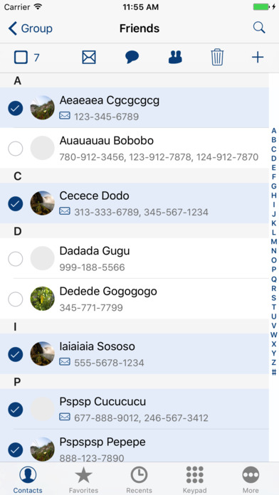 CGTool Pro Offers Easy Group Management of Contacts to iPhone Users Image