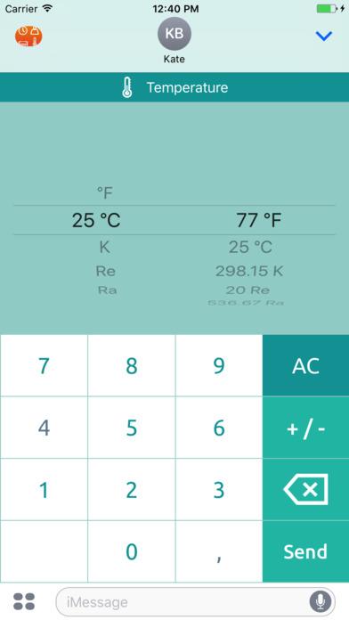 Universal converter free: Converts all units of measurement iPhone Screenshot 7