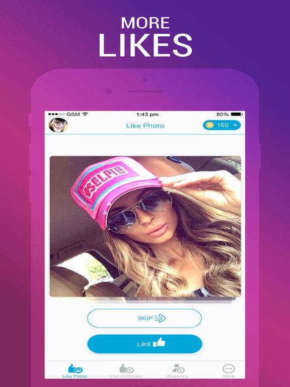 Лайки и подписчики - Likes & Followers Скриншоты4