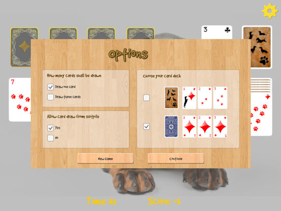 Doxie Solitaire screenshot 8