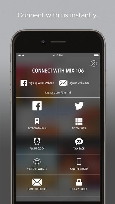 Mix 106.5 iPhone Screenshot 2
