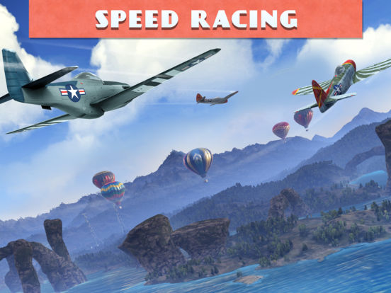 Sky Gamblers Races Screenshots