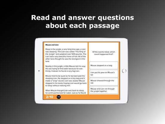 3rd Grade Reading Comprehension Prep on the App Store