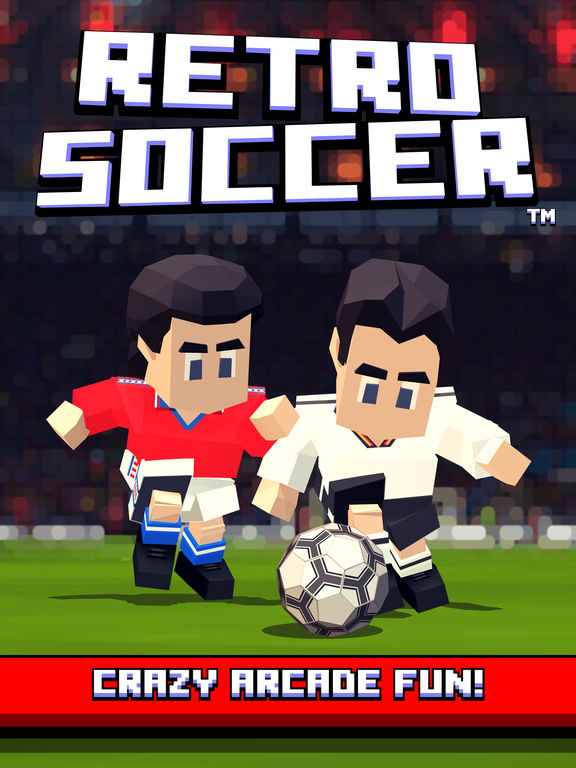 Retro Soccer - Arcade Football Game iPad