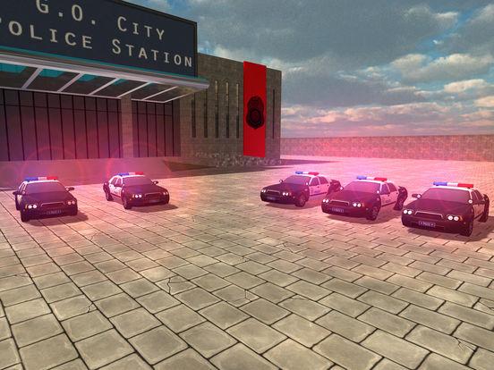 Screenshot #1 for Police BMX Rider: Crime