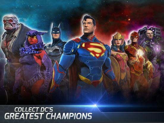 Screenshots of DC Legends for iPad