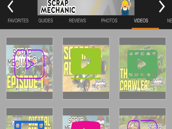 Game Guru - Scrap Mechanic Version iPad Screenshot 4
