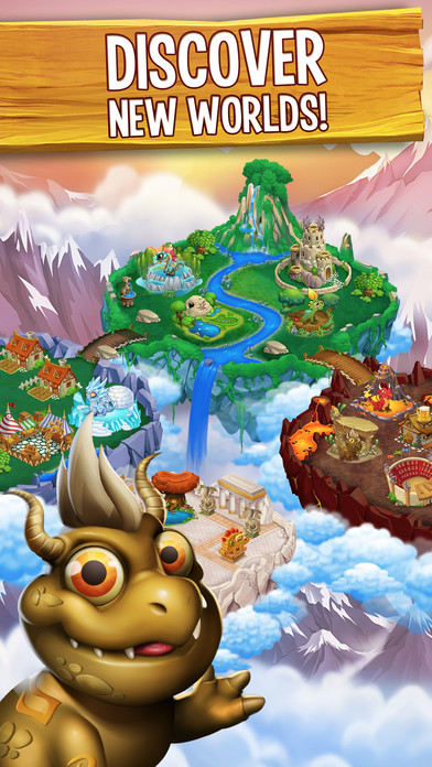 Screenshots of Dragon City Mobile for iPhone