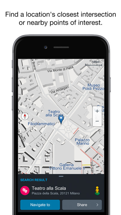 Genius Maps: GPS Navigation app image