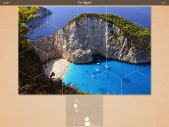 Real Puzzle - MultiShape Jigsaw LITE iPad Screenshot 2