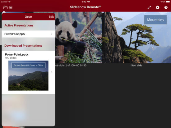 Slideshow Remote™ for PowerPoint iPad Screenshot 2