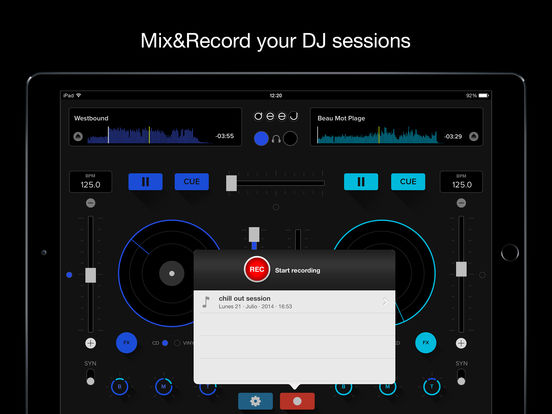 deej - DJ turntable. Mix, record, share your music Screenshots