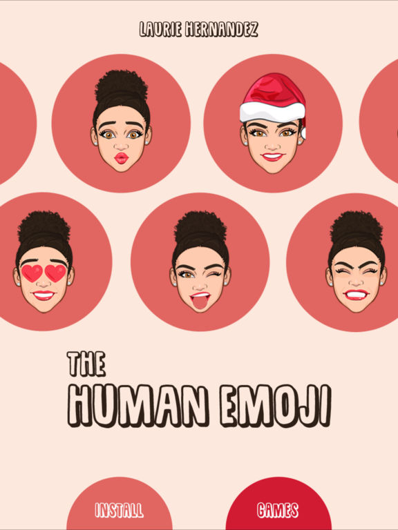 Laurie Hernandez the Human Emoji screenshot 6