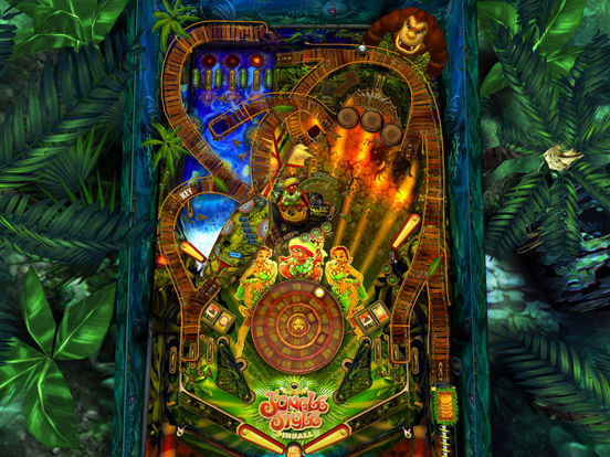 Jungle Style Pinball iPad Screenshot 5